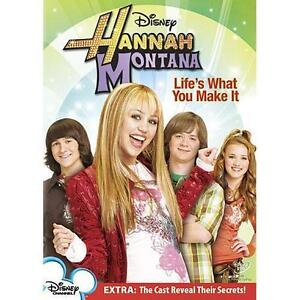 Hannah Montana: Life's What You Make It (DVD, 2007) *BRAND NEW*