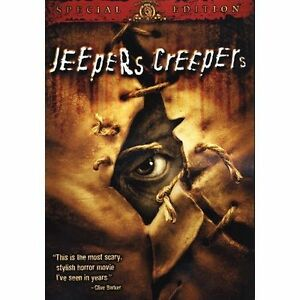 Jeepers Creepers DVD 2002 Lenticular Gina Philips amp Justin Long - Hemet, California, United States - Jeepers Creepers DVD 2002 Lenticular Gina Philips amp Justin Long - Hemet, California, United States