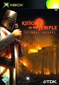 XBOX Spiel Knights of the Temple ohne Anleitung guter Zustand + OVP