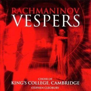 Sergey Rachmaninov - Rachmanivov: Vespers (Cleobury) (CD 1999)