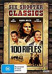 100 RIFLES . RAQUEL WELCH  DVD NEW, FREE POSTAGE WITHIN AUSTRALIA REGION 4