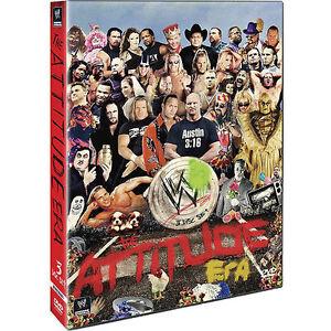 WWE: The Attitude Era (DVD, 2012, 3-Disc...