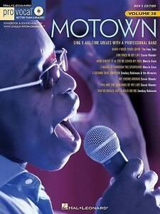 Pro Vocal Volume 38 Motown Men'S Edition Book/Cd (Hal Leonard Pro Vocal (Numbere