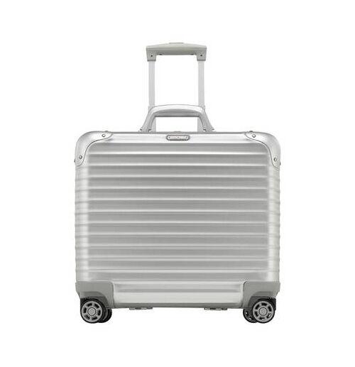 rimowa trolleys aus titanium ultraleichte koffer f r. Black Bedroom Furniture Sets. Home Design Ideas