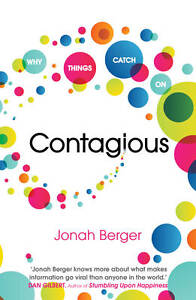 Contagious by Jonah Berger : WH5-B6 : PBL693 : NEW BOOK