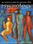 An Introduction to Statistics in Psychology, Dennis Howitt and Duncan Cramer, 0132398230