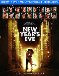New Year's Eve (Blu-ray/DVD, 2012) W/Slipcover
