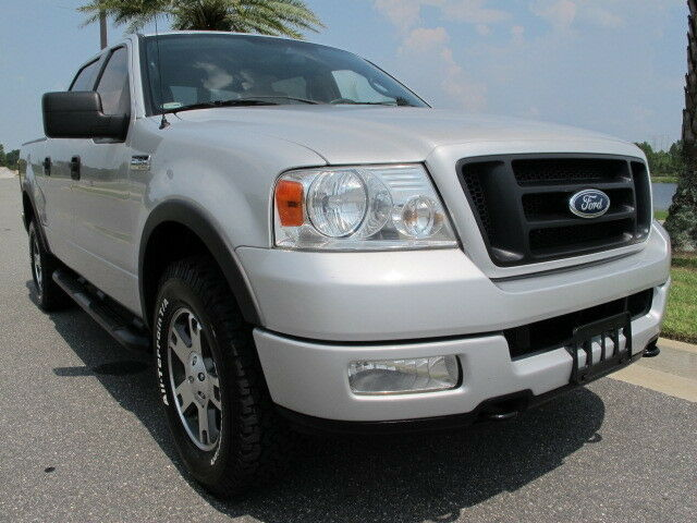 Ford F150 Supercrew Lariat FX4 4x4 Leather Bucket Seats Center Console Shift