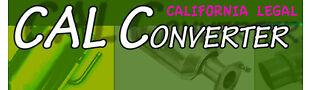 Cal Converter