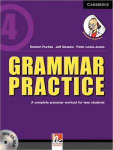 Grammar Practice Level 4 Paperback With Cd-Rom  BOOK NEW