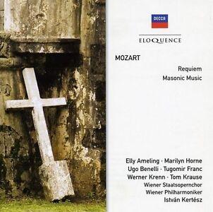 New - Mozart: Requiem Masonic Music
