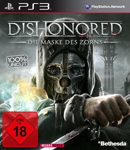 Sony PS3 Dishonored Maske des Zorns Skill Tree Zombies Unterwelt deutsch OVP TOP - Alland, Österreich - Rücknahmen akzeptiert - Alland, Österreich
