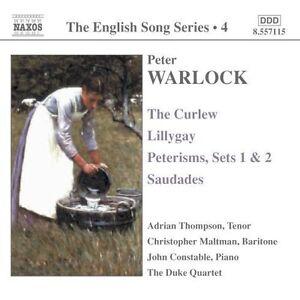 Warlock-The-Curlew-Lillygay-Peterisms-Sets-1-amp-2-Saudades-Good-Duke-Qt-C