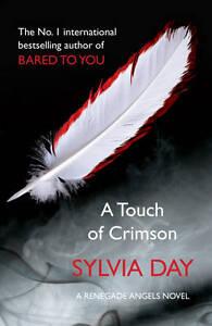 A-Touch-of-Crimson-A-Renegade-Angels-Novel-1-Day-Sylvia-Very-Good-Book