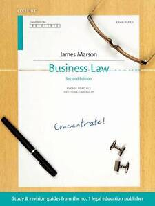 Business Law Concentrate: Law Revision and Study Guide by Marson, James