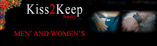 Kiss2Keep Men's and Women's Jewelry