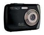 VistaQuest VQ-8920 Sport 8.0 MP Digital Camera - Black