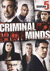 Criminal Minds: Season 5 (DVD, 2010, 6-Disc Set) (DVD, 2010)