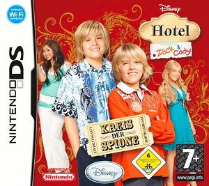Hotel Zack & Cody - Kreis der Spione (Nintendo DS, 2010).NEU