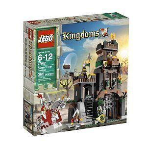 LEGO Prison Tower Rescue new sealed Kingdoms castle set 7947 retiROT