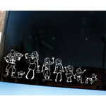 9 Humorous Car and Truck Decals