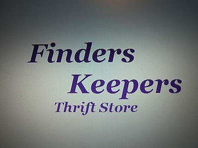 FINDERS KEEPERS THRIFT STORE