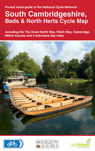 South Cambridgeshire Beds & North Herts Sustrans Cycle Map 17