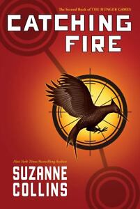 CATCHING-FIRE-The-Hunger-Games-Book-2-Collins-Suzanne-Hardcover-LIKE-NEW