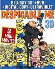 Despicable Me 3D DVDs