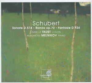 Alexander-Melnikov-Schubert-Sonate-D-574-Rondo-op-70-Fa-CD-NEW