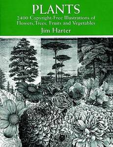 Plants: 2400 Designs by Jim Harter (Paperback, 1998)