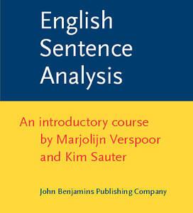 English Sentence Analysis Verspoor  Marjolijn 9789027225665