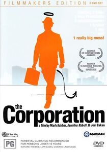 The-Corporation-2-Disc-DVD-Region-4-Good-Condition