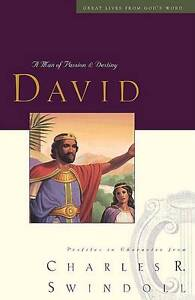 GREAT LIVES: DAVID TP (Great Lives from God's Word), Swindoll, Charles, New Book