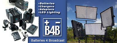 Batteries 4 Broadcast Gear