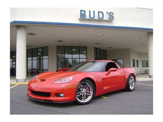 SOLD - 2008 Red Chevrolet Corvette Z06  | C6 Corvette Photo 1
