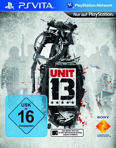 Unit 13 (Sony PlayStation Vita, 2012) - <span itemprop='availableAtOrFrom'>Heidelberg, Deutschland</span> - Unit 13 (Sony PlayStation Vita, 2012) - Heidelberg, Deutschland