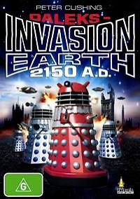 Daleks - Invasion Earth 2150 A.D. (DVD) Fans of Doctor Who [REGION 4] NEW SEALED