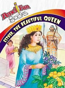 NEW Esther Beautiful Queen (Pencil Fun Books) (10 Pack)