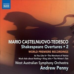 C-Tedesco: Shakespeare Overtures Vol. 2, Jay Harrison (Solo Cor Anglais),, Very