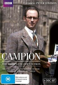 Campion - The Complete Series (6 DVD Set) NEW R4 DVD