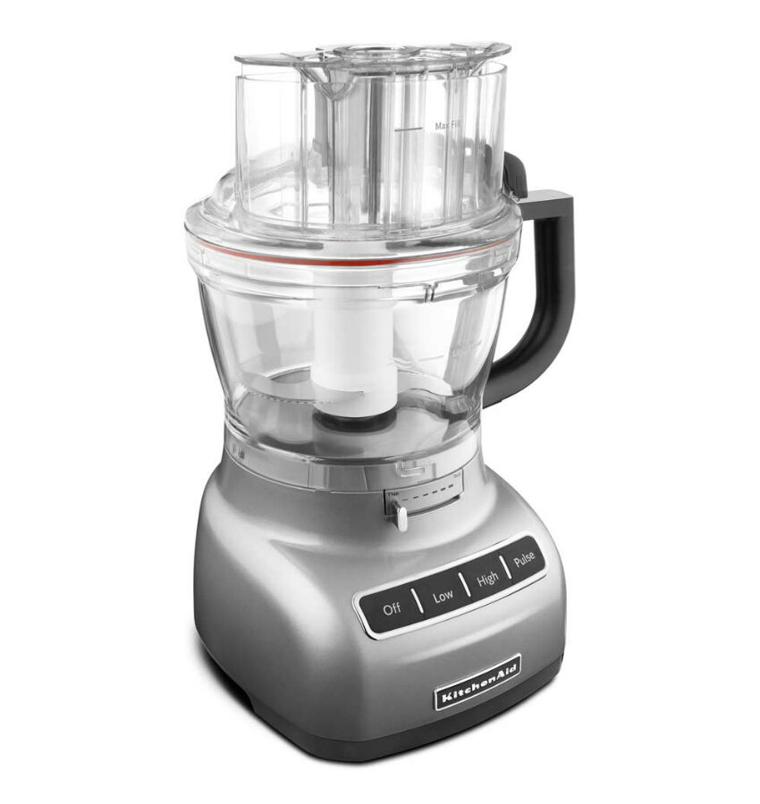 What are some tips for using a food processor?