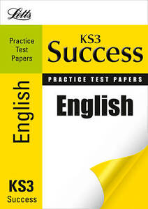 Very Good, English: Practice Test Papers (Letts Key Stage 3 Success), Barber, Ni