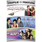 Along Came Polly/Reality Bites/Mystery Men (DVD, 2008, 3-Disc Set)