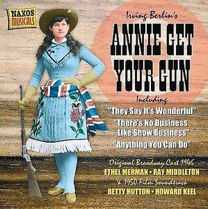 ANNIE GET YOUR GUN CD ORIGINAL BROADWAY CAST + FILM SOUNDTRACK NEW/SEALED