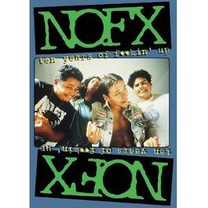 NOFX - Ten Years Of Fuckin' Up (DVD, 2003)