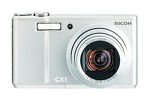 Ricoh CX1 10.3 MP Digital Camera - Silver