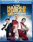 A Very Harold & Kumar Christmas (Blu-ray Disc, 2012, 3-Disc Set, Canadian; French; 3D)