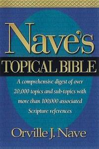 Nave's Topical Bible, Good Condition Book, , ISBN 9780917006029