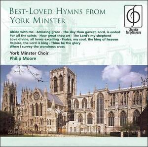 Best-Loved Hymns from York Minster, Philip Moore, Very Good CD